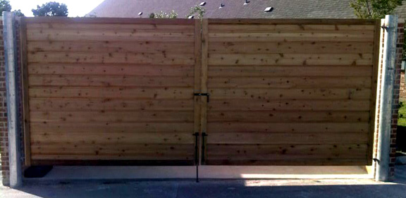 B Amp D Fence Privacy Wood Fence